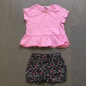 Gap/ H&M set size 3T